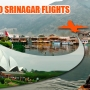 CheapAirETickets.In presents Great Deals on Flights to Srinagar
