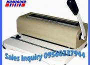Heavy duty spiral binding machine price in delhi