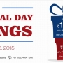 Memorial Day Offer on May 23 - 26, Ishopinternational