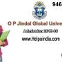 O. P. Jindal Global University Admissions open 2015