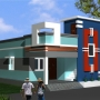 Semi Furnished Independent House Sale for Irrandam Kattalai Near Anakaputhur