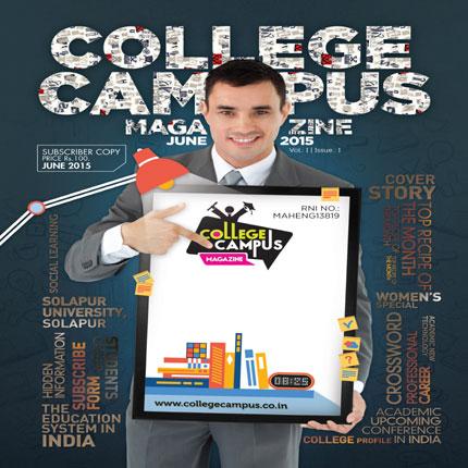 College campus magazine