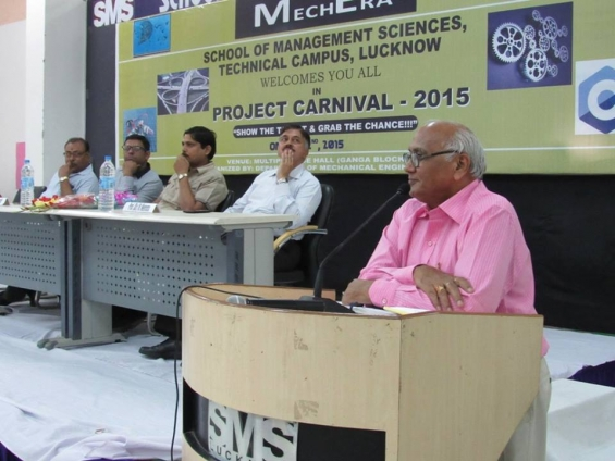 """project carnival-2015"" was successfully organized at sms lucknow"
