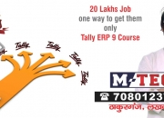 Tally course,tally erp course, professional tally course in lucknow india m-tec