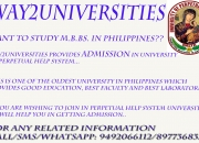 Admissions opened into mbbs in philippines