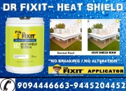 Dr fixit – heat shield for cool terrace