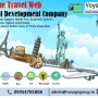 Leading online travel web portal development company in india
