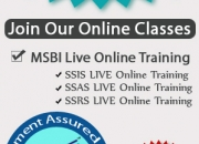 Best Online Training on SQL Business Intelligence @ SQL School