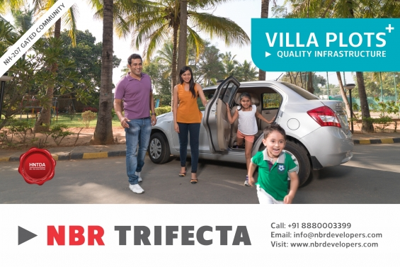 Pictures of Br trifecta is a well-built residential project developed by nbr group. located  3