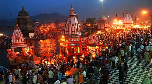 Haridwar rishikesh tour package at 7250 for 02n/03d from delhi