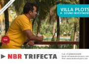 NBR Trifecta is a gated community with villa plots for sale close to major localities of B