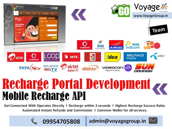 Online mobile recharge api portal development company in india