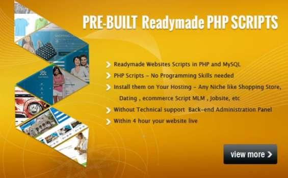 Php scripts | readymade script