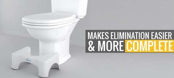 Proper way to sit on toilet with toilytool