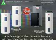 Sanicon Energy Solution An Array Of Electric Water Heaters With Self Cleaning For Least Ha