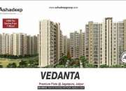 Vedanta - Affordable Flats in Jaipur by Ashadeep Group