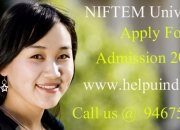 NIFTEM University Admission 2015