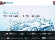 "ReadyMade Clone for ""Car Wash"" Application and Website By BR Softech Pvt.Ltd"