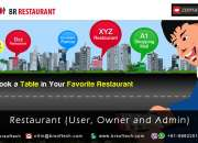 """ReadyMade solution""""Restaurent""""Application and Website By BR Softech Pvt.Ltd"""