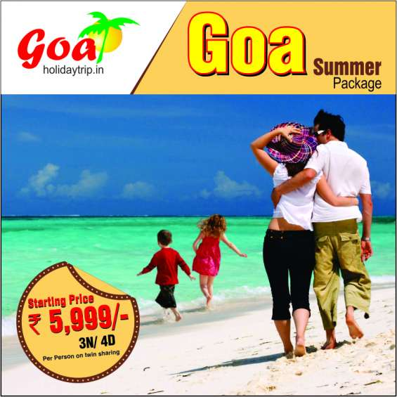 Goa holiday tours & travel packages with goaholidaytrip.in