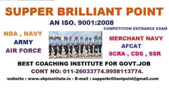 No1 coaching institute of nda in mahiplapur.