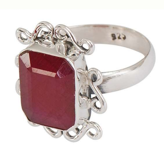 Ruby gemstone designer ring