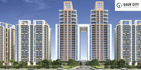 Buy luxury flats in gaur city 7th avenue call @9560187799