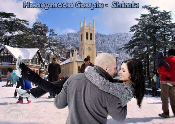 Shimla honeymoon package with 2 star hotel