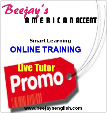 Beejay's online american accent mentoring program - beejaysenglish
