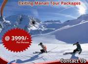 Book Astonishing Manali Tour Packages with Lowest Price Ever: