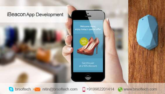 Business ibeacon app to increase your business for android & ios (br softech pvt.ltd)