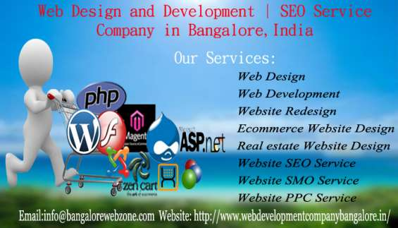 Web design and developoement | seo service company in bangalore