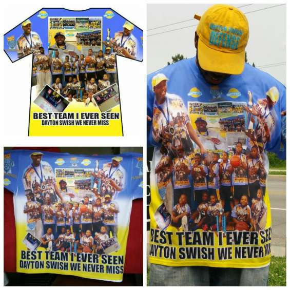 Allover printed photo t-shirt - www.tshirtkings247.com customize yours today... 9376034494