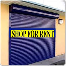 Ground floor shop available for rent.