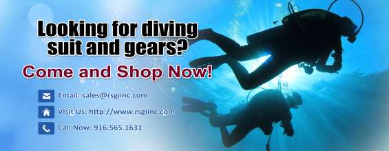 Looking for diving suit and gears? come and shop now...