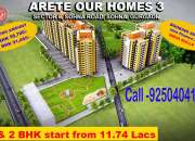 Arete Our Homes 3 call 925o404173 Affordable Project in sohna