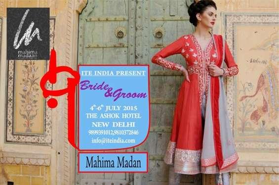 Bride & groom exhibition