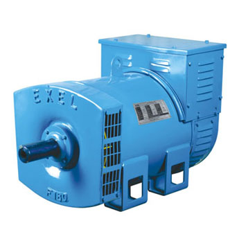 Exel ac generators / alternators in slipring type and brushless design in single bearing or double bearing construction