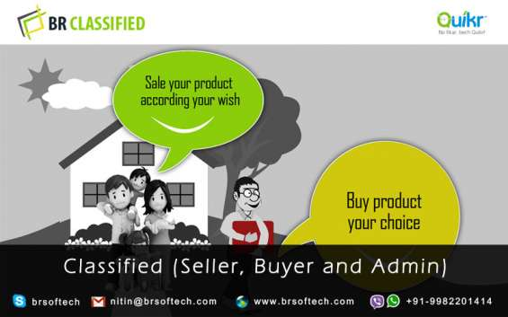 Ready solution classified app and website by (**br-softech**)