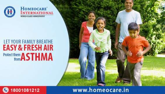 Get relief from asthma through natural homeopathy