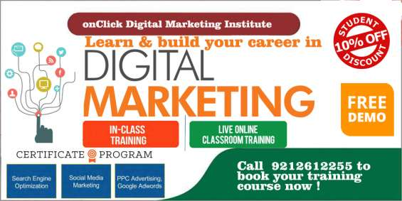 Advance digital marketing program