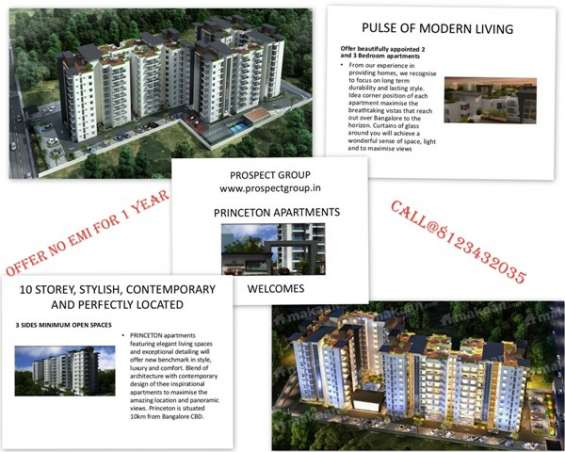 Minimum three side open apartments with ample lung spaces-princeton luxury apartments