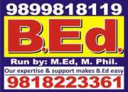1 year B.Ed course admission in MDU in New Delhi