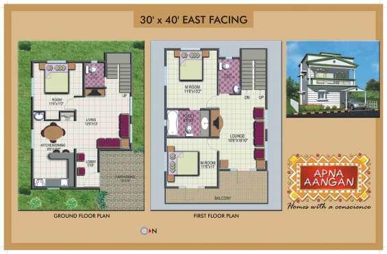 Pictures of 3bhk villas for sale off hosur road, bangalore at apna aangan 5