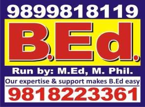 Admissions for online b.ed (regular)session 2015-16 in new delhi
