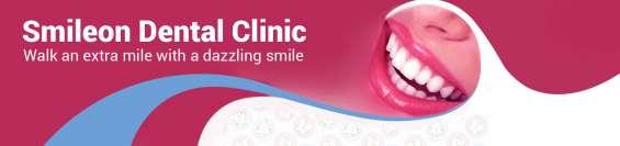 Smile on dental clinic