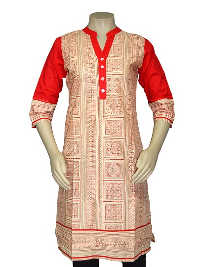 Kurtis-printed cotton kurtis online in india