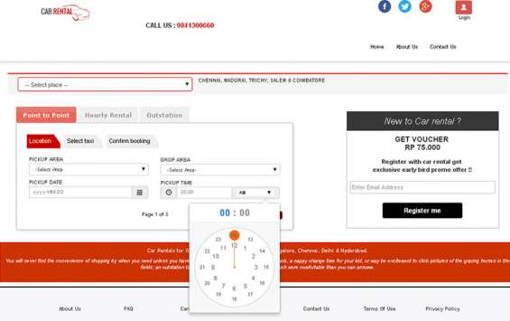 Online readymade php car hotel taxi booking script