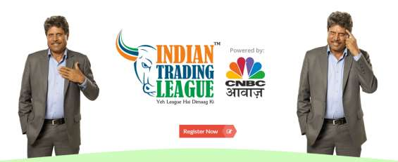 Share trading tournaments in india by indian trading league (itl) with kapil dev