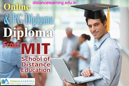 Online pg diploma & diploma courses from mit distance
